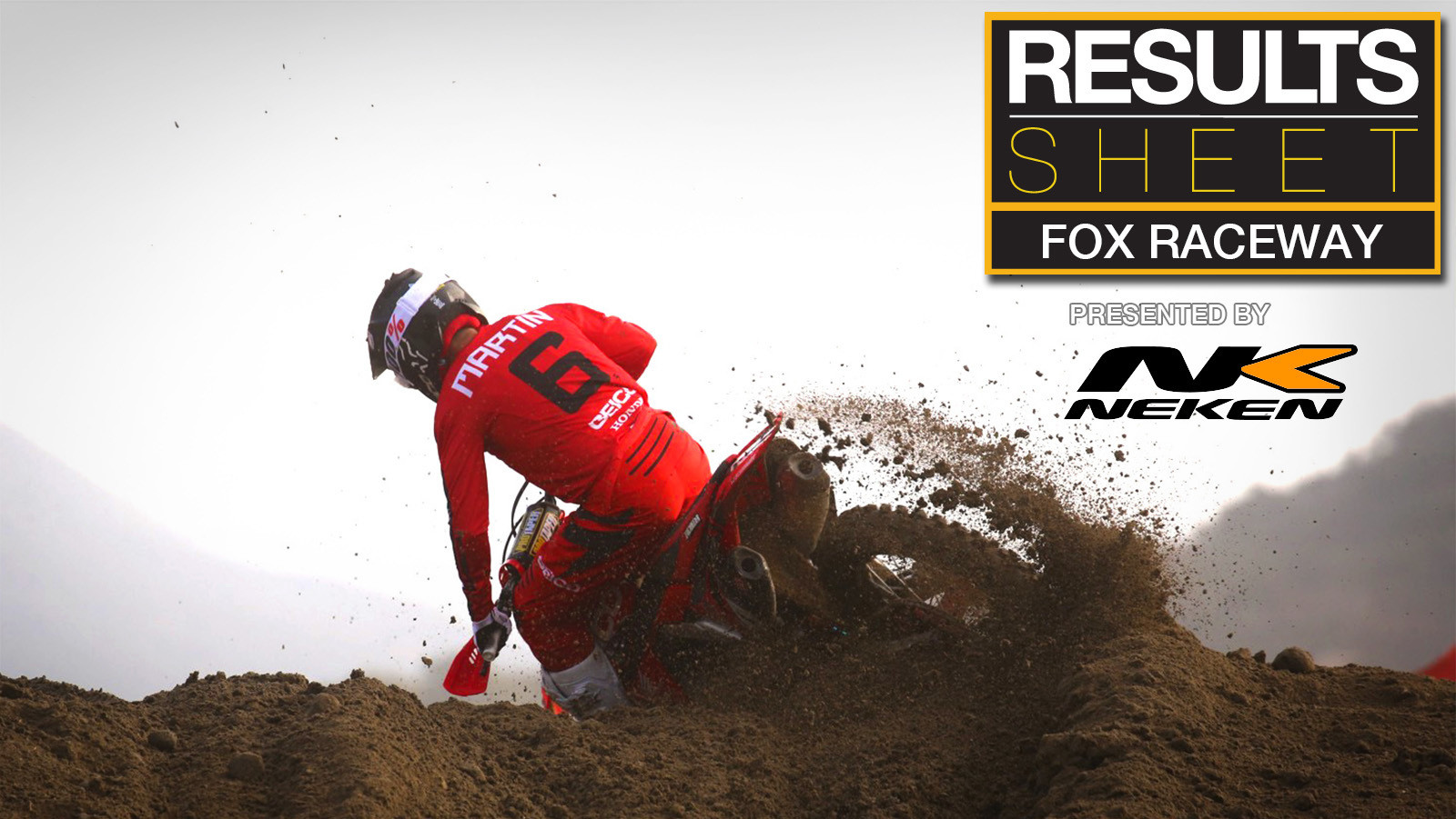 Results Sheet: 2020 Fox Raceway National