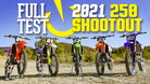 2021 Vital MX 250 Shootout: Full Test