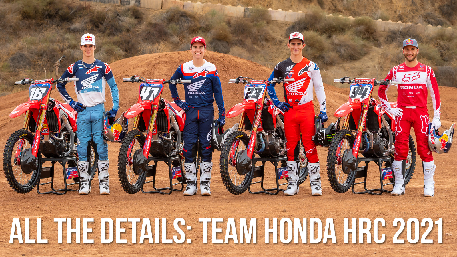 All The Details: Team Honda HRC 2021