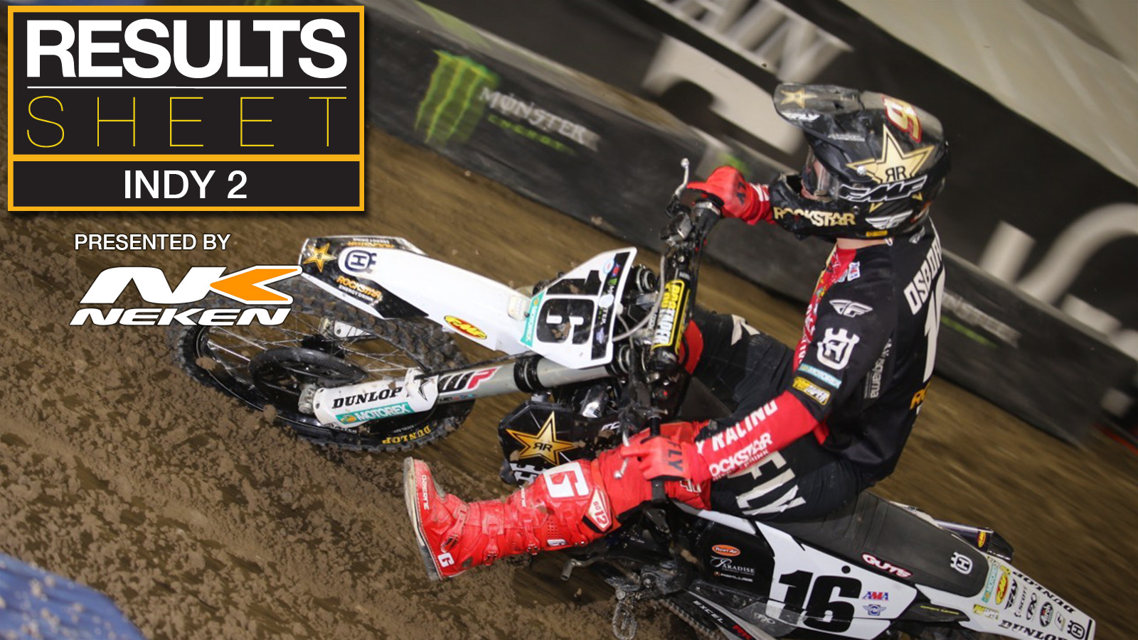 Results Sheet: 2021 Indianapolis 2 Supercross