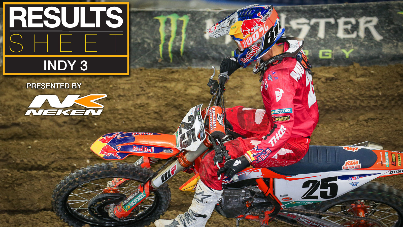 Results Sheet: 2021 Indianapolis 3 Supercross
