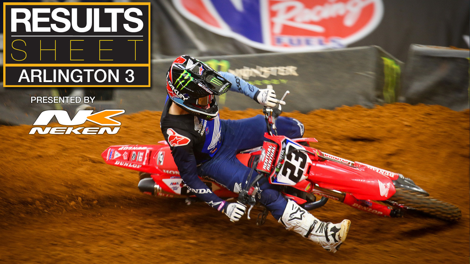 Results Sheet: 2021 Arlington 3 Supercross