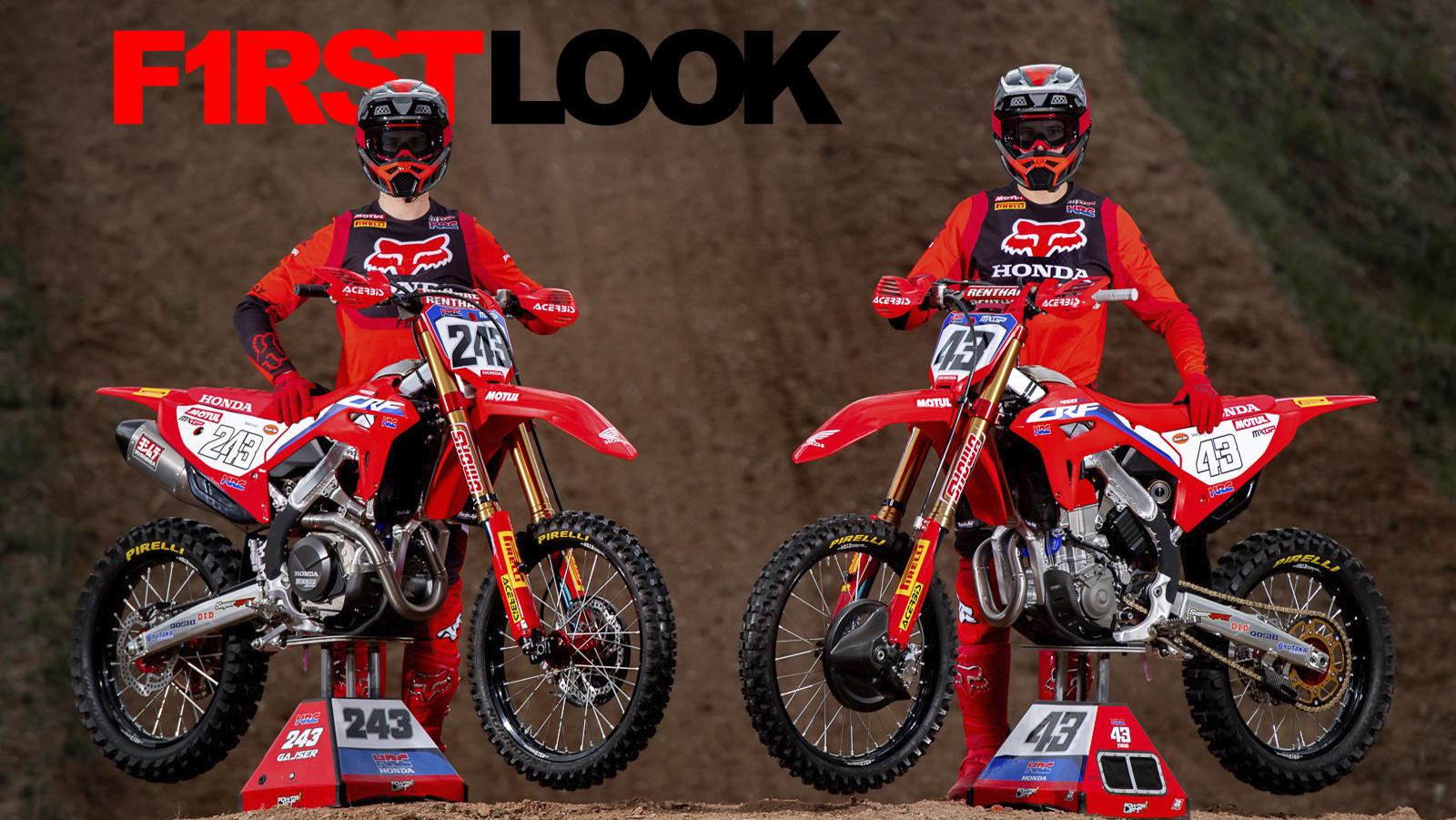 First Look: 2021 MXGP Team HRC