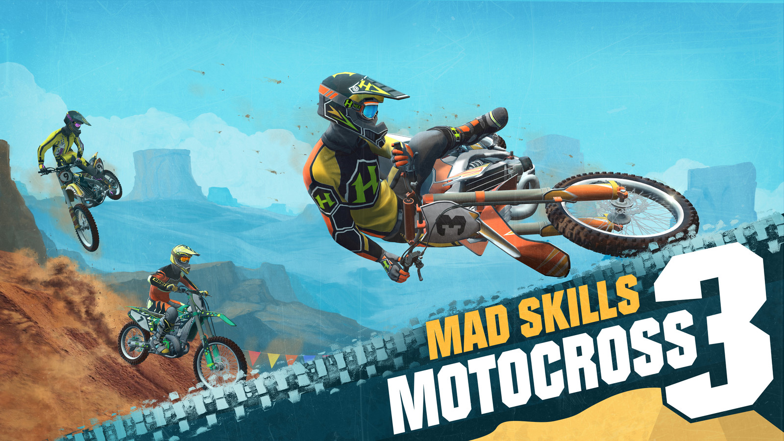 Mad Skills Motocross 3 is Out Now!