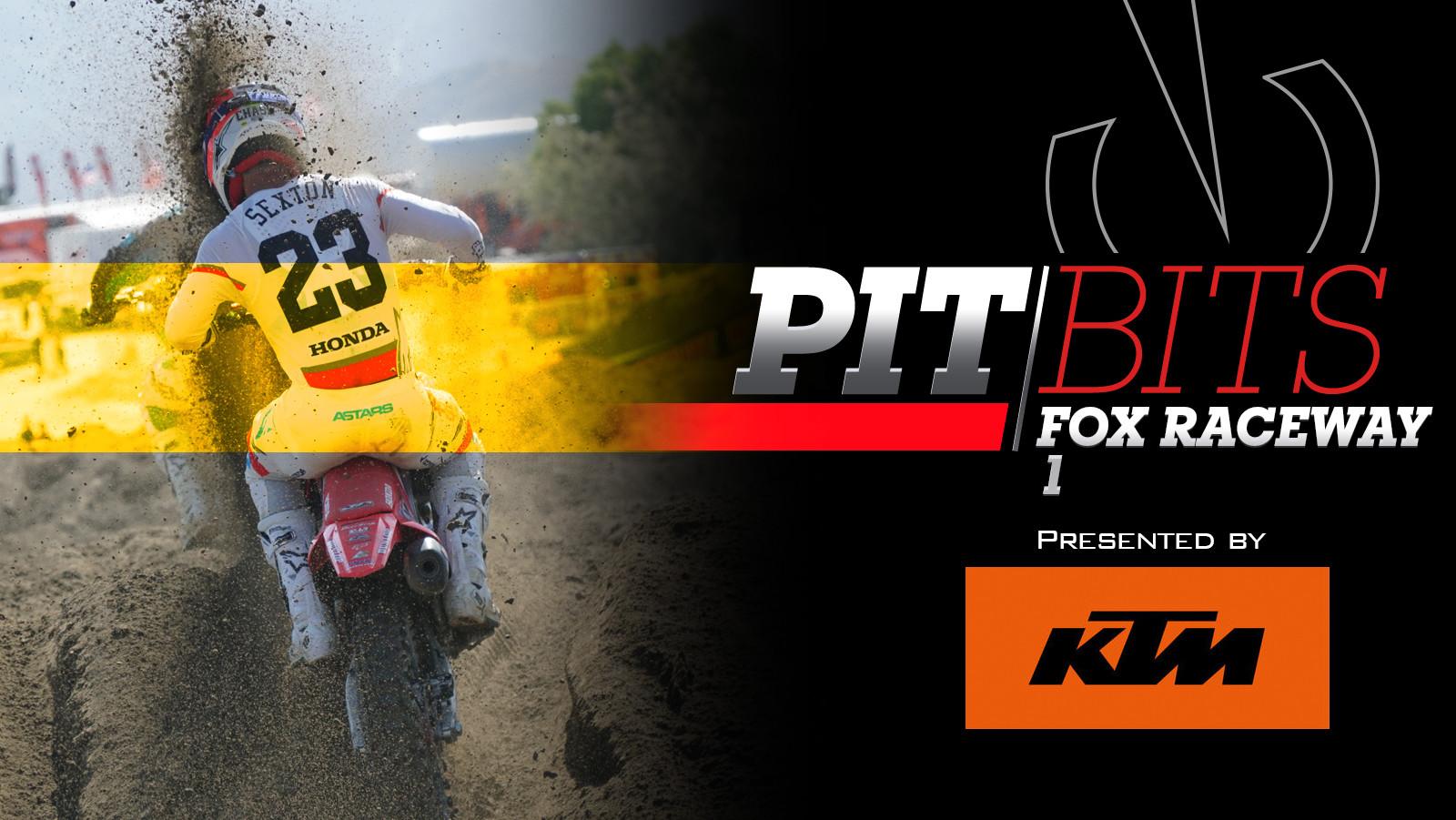 Vital MX Pit Bits: Fox Raceway 1