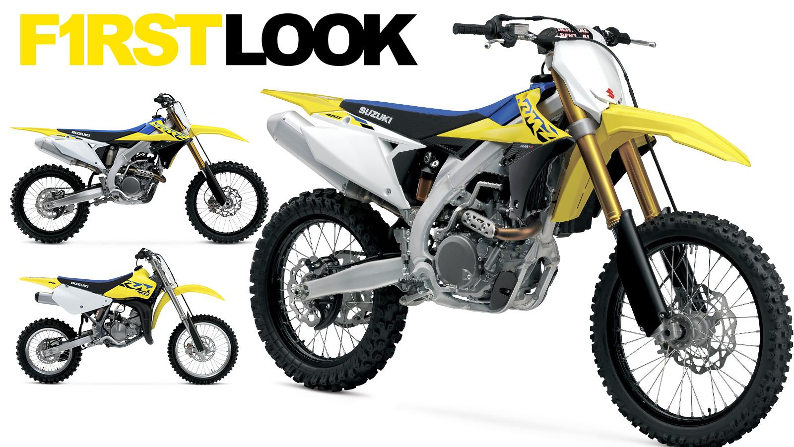 First Look: 2022 Suzuki Motocross Bikes