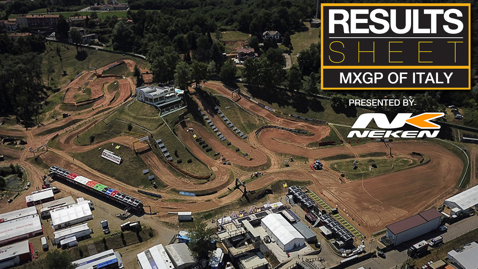 Results Sheet: 2021 MXGP of Italy