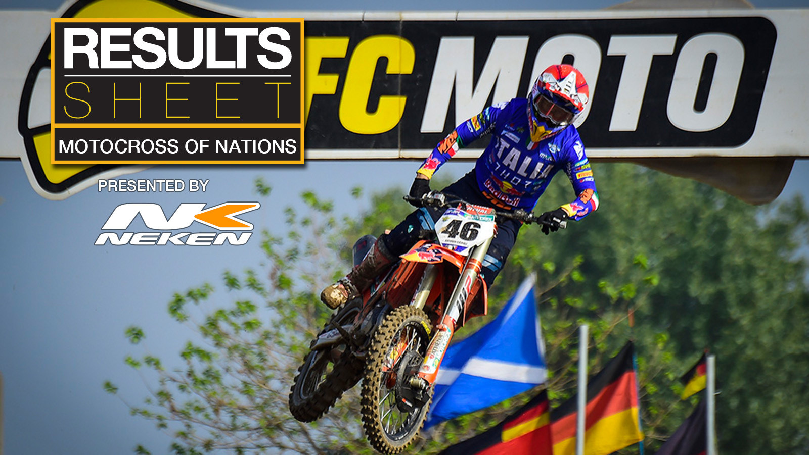 Results Sheet: 2021 Motocross of Nations