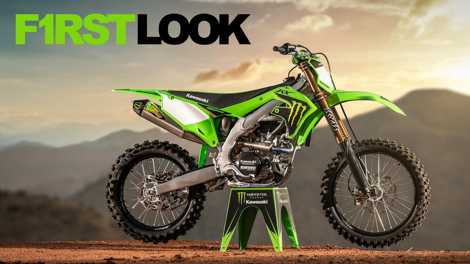First Look: 2022 Kawasaki KX450SR (Special Racer Edition)
