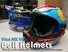 Vital MX Visit: Bell Helmets