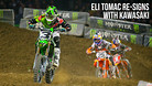 Monster Energy Kawasaki Extends Contract with Eli Tomac for Multiple Years