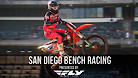 San Diego Supercross - Timed Qualifying Bench Racing