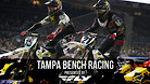 Tampa Supercross - Timed Qualifying Bench Racing