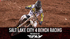 Salt Lake City 4 Supercross - Timed Qualifying Bench Racing