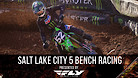 Salt Lake City 5 Supercross - Timed Qualifying Bench Racing