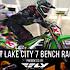 Salt Lake City 7 Supercross - Timed Qualifying Bench Racing