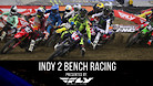Indianapolis 2 Supercross - Timed Qualifying Bench Racing