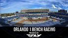 Orlando 1 Supercross - Timed Qualifying Bench Racing