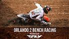 Orlando 2 Supercross - Timed Qualifying Bench Racing