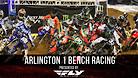 Arlington 1 Supercross - Timed Qualifying Bench Racing
