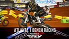 Atlanta 1 Supercross - Timed Qualifying Bench Racing