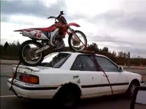 how to find out size and year of dirtbike