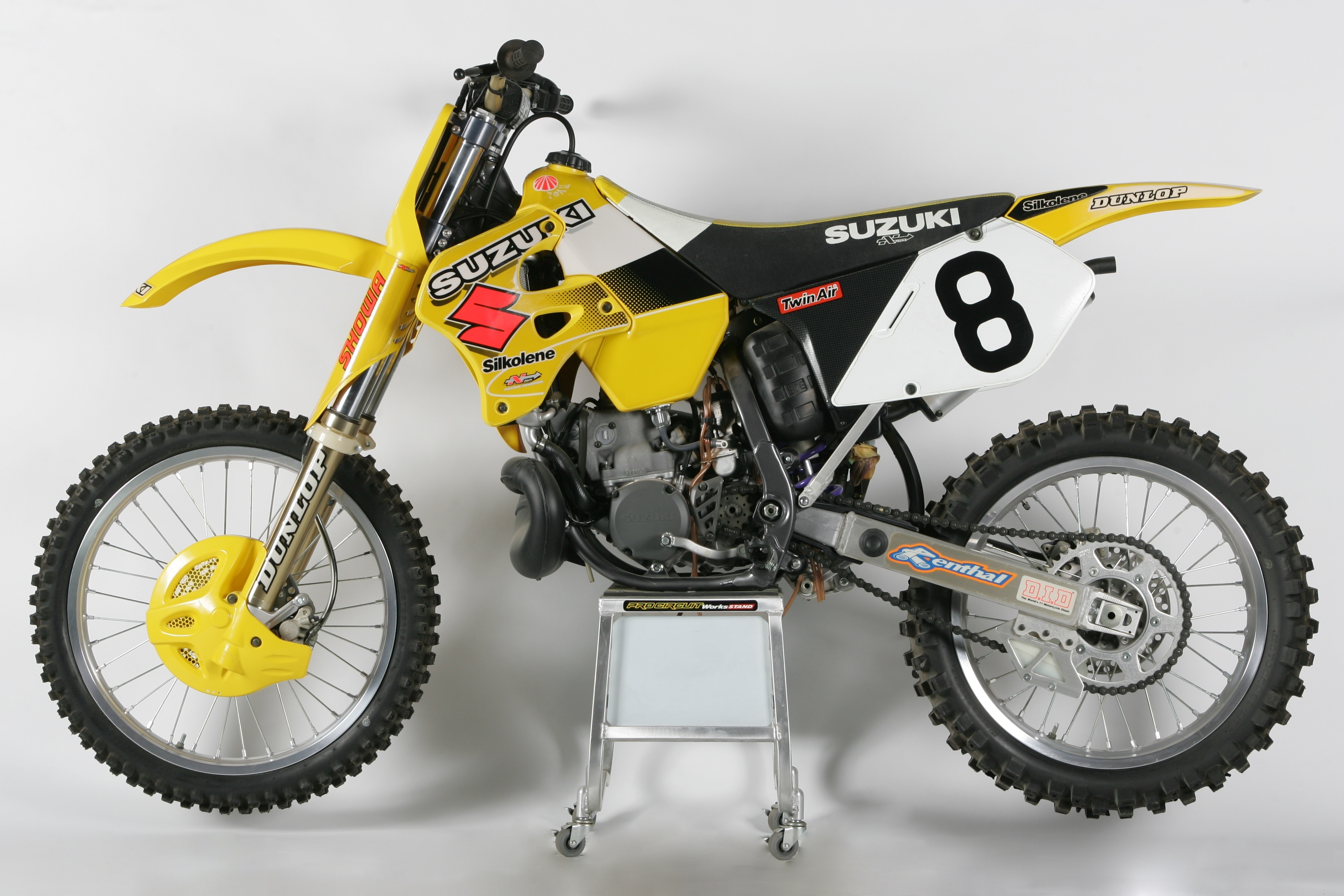 This week's Classic Steel is a look back at the 96 RM250