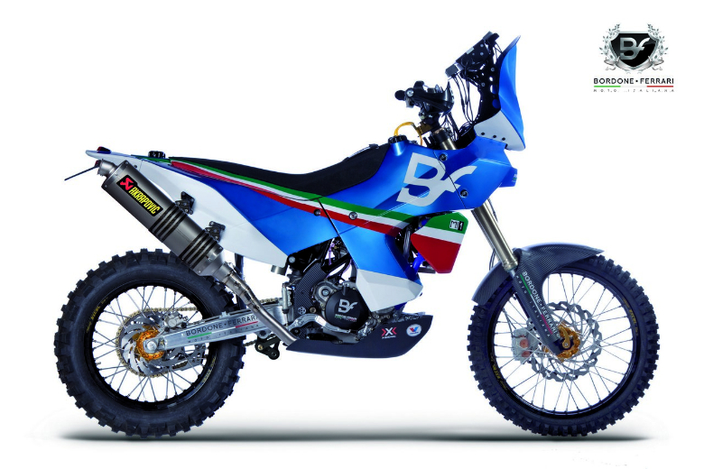 Beautiful Paris Dakar Bike Bordone Ferrari Moto Related