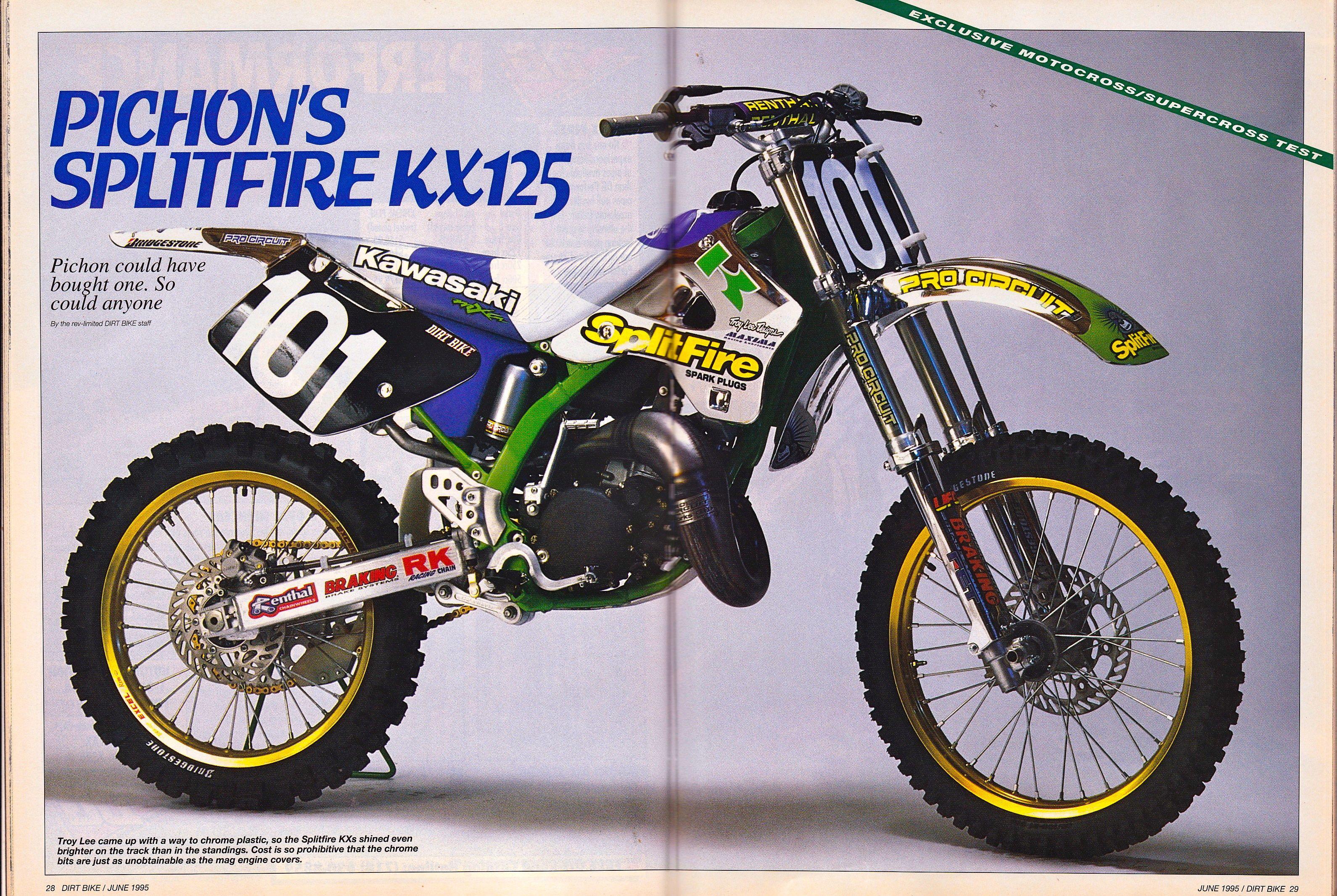 pro circuit 1991 kx125