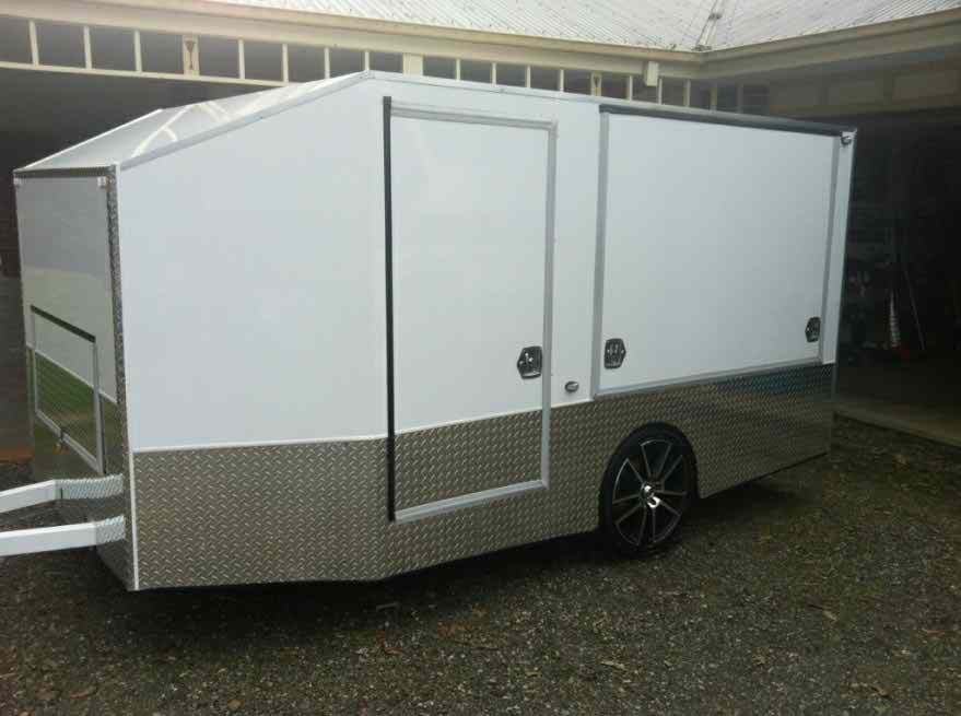 Custom Built Race Trailers Moto Related Motocross