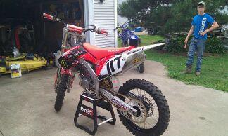 My 2012 2001 Cr125 Moto Related Motocross Forums
