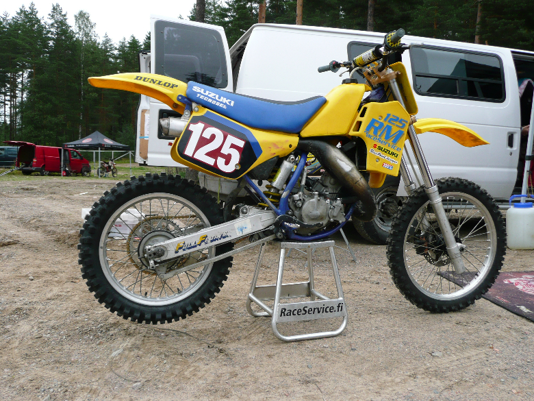Suzuki Rm 125 1987 Old School Moto Motocross Forums