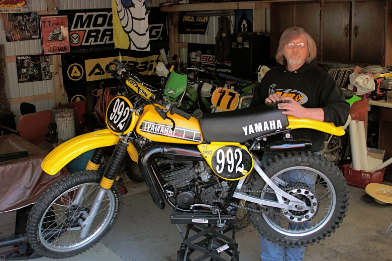 1978 yz250 old school moto motocross forums message. Black Bedroom Furniture Sets. Home Design Ideas