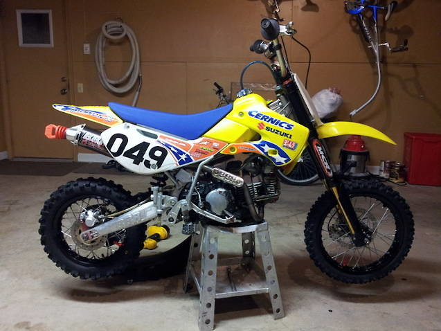 2006 KLX110 full mod bike - For Sale/Bazaar - Motocross