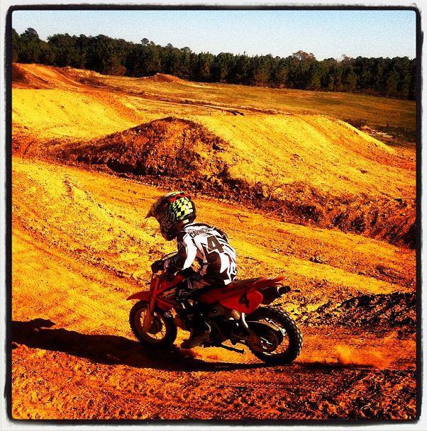 Carmichael kadin Supercross racer