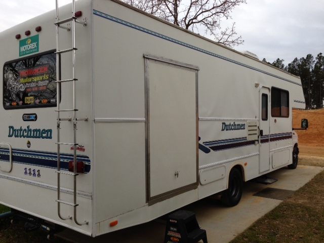 Class c rv w garage for sale bazaar motocross forums for Class a rv with garage