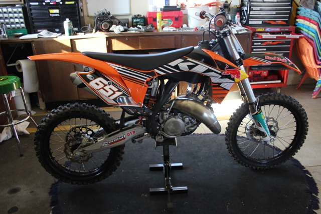 motocross orange