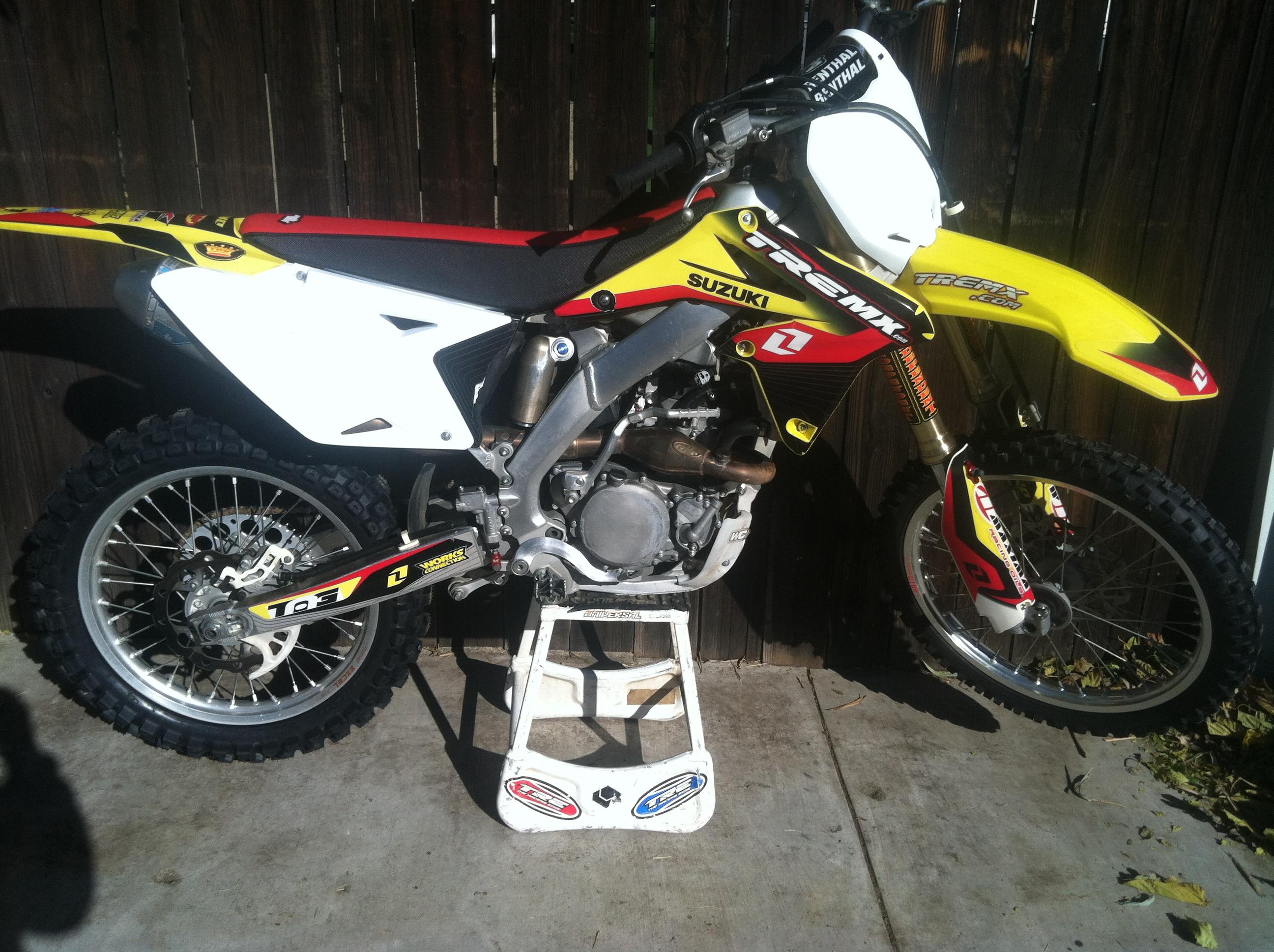 For Sale: 2011 Suzuki rmz 250 - Moto-Related - Motocross ... Race Bike Photos 2013