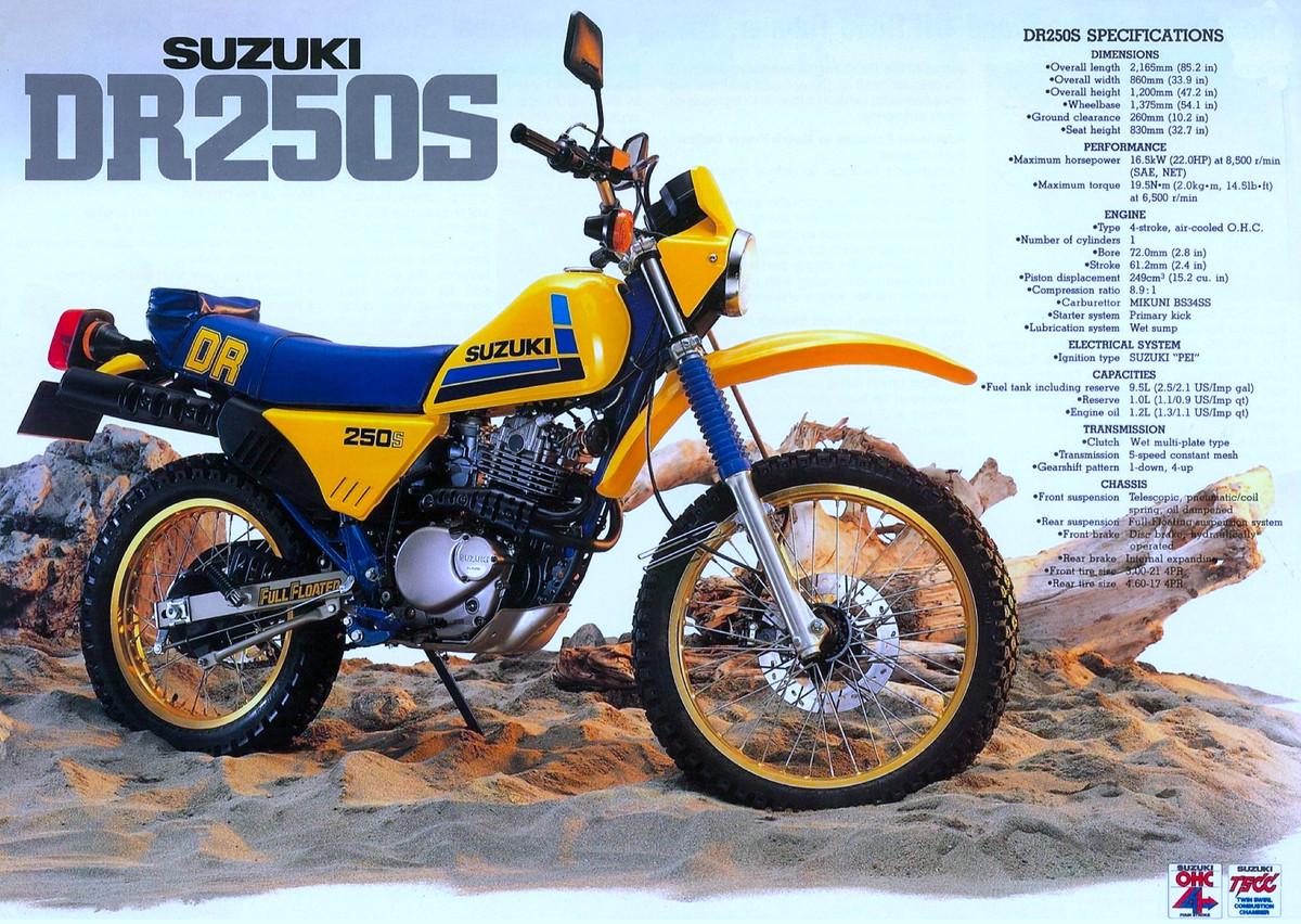 Suzuki Dr Specs