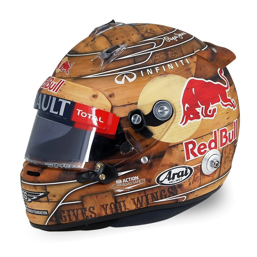 Arai racing helmets