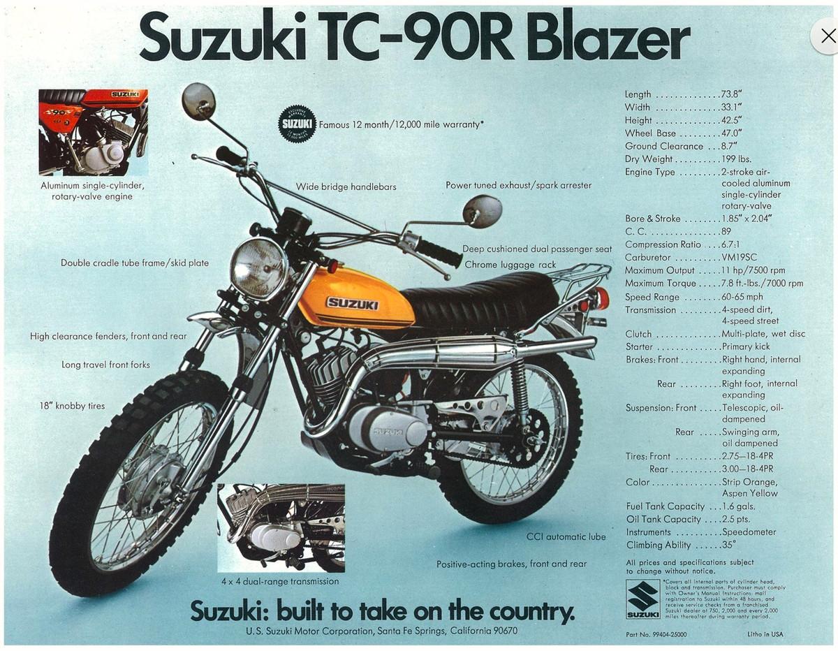Suzuki Tc Blazer