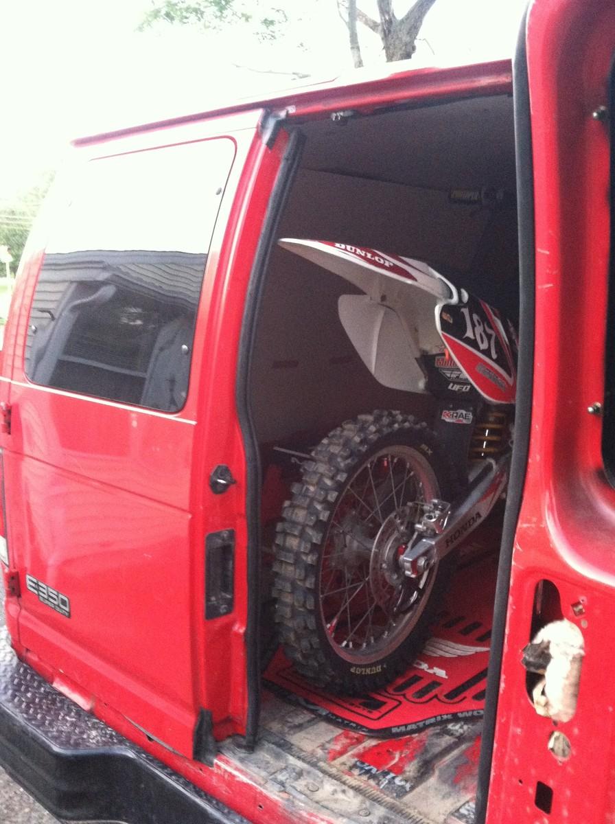00 Ford E350 Moto Van For Sale Bazaar Motocross