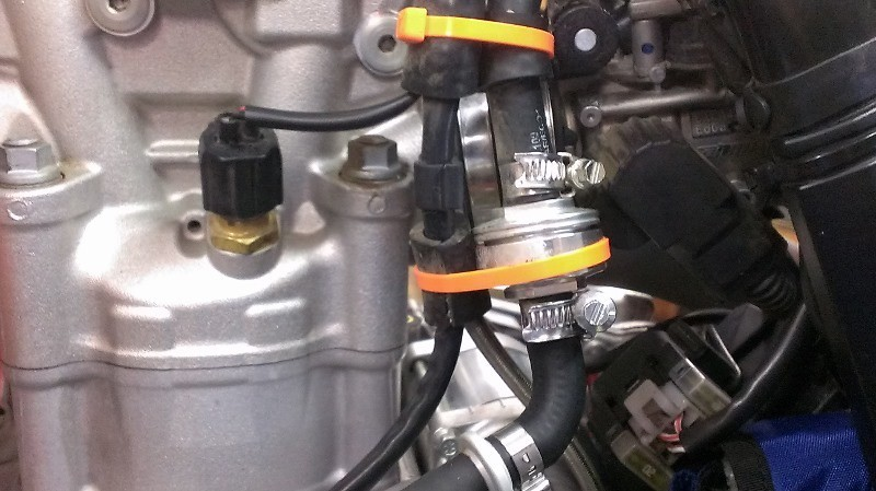 how to clean ktm 350 injector