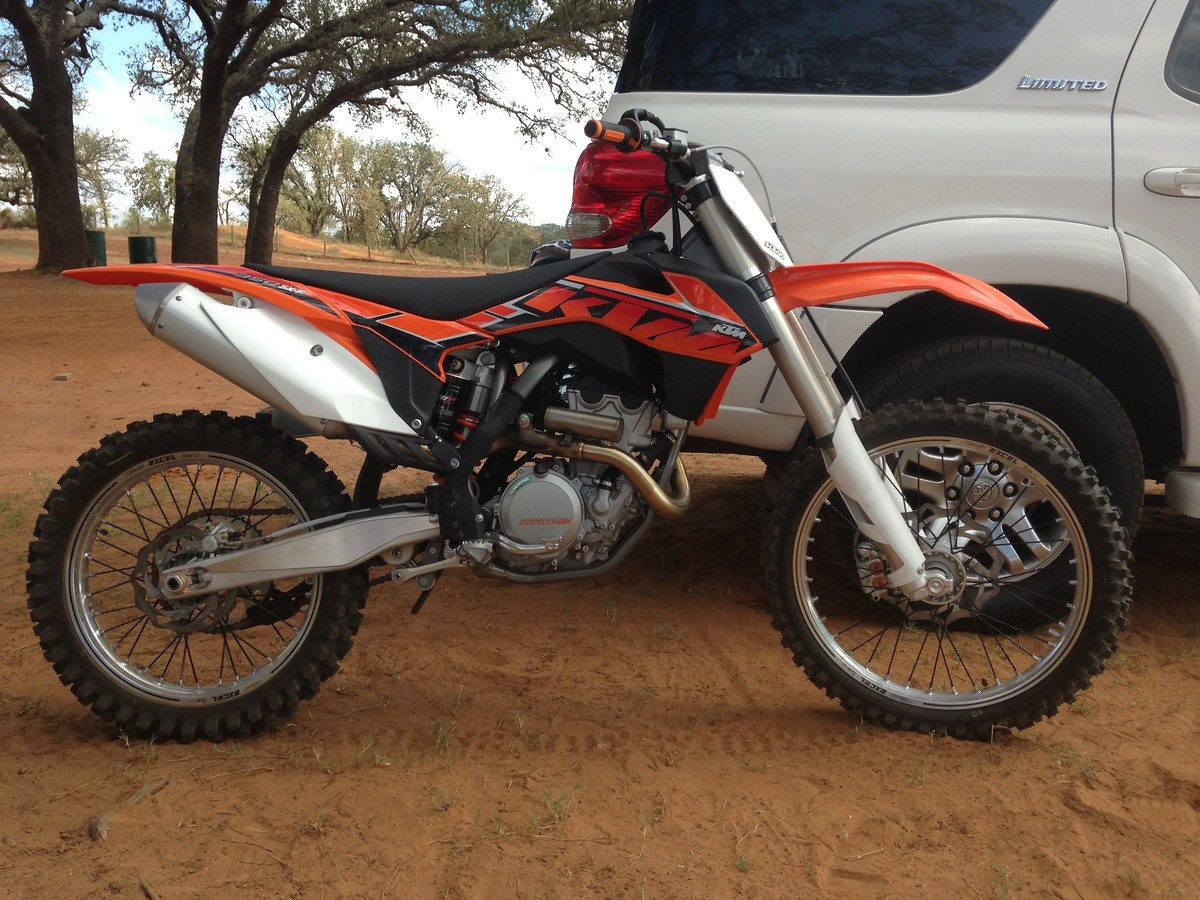 Seat of the panties 2014 KTM 350SX-F Review - Moto-Related