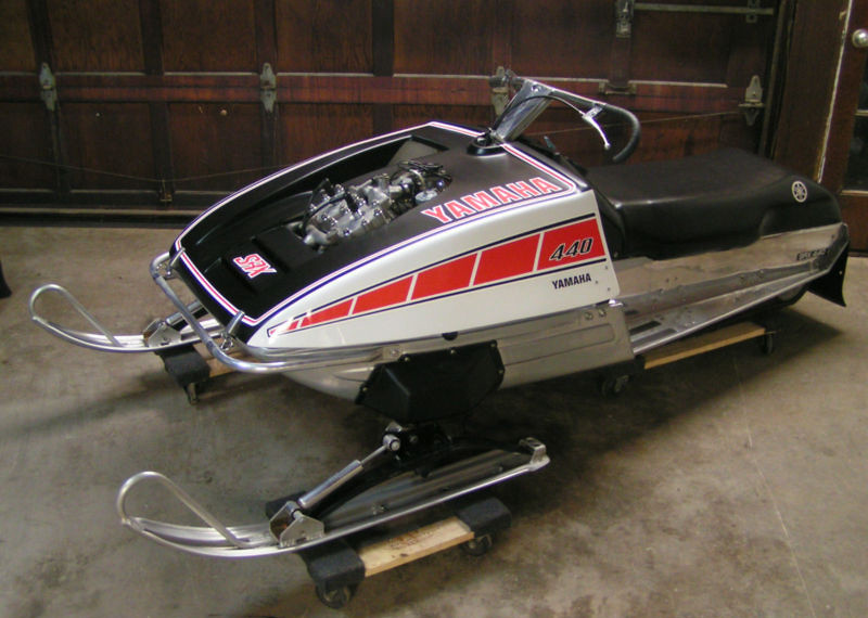 Yamaha Srx Snowmobile