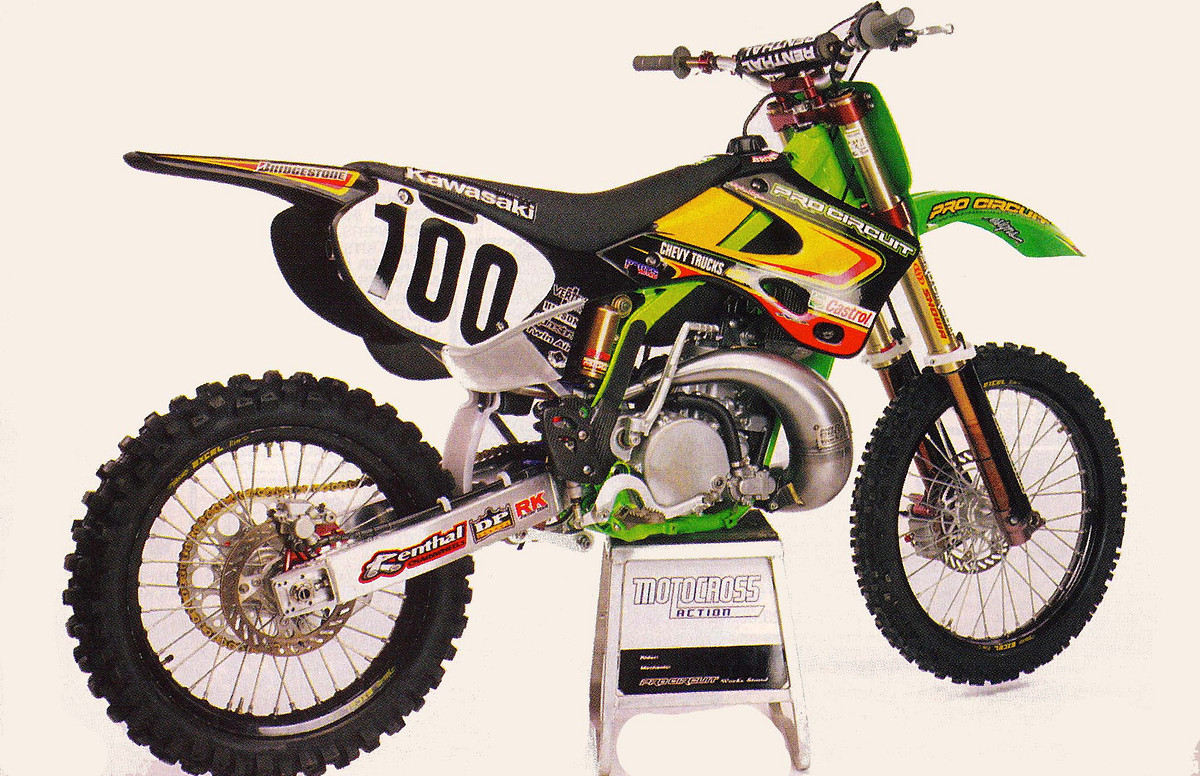 Pro Circuit Kawasaki Graphics