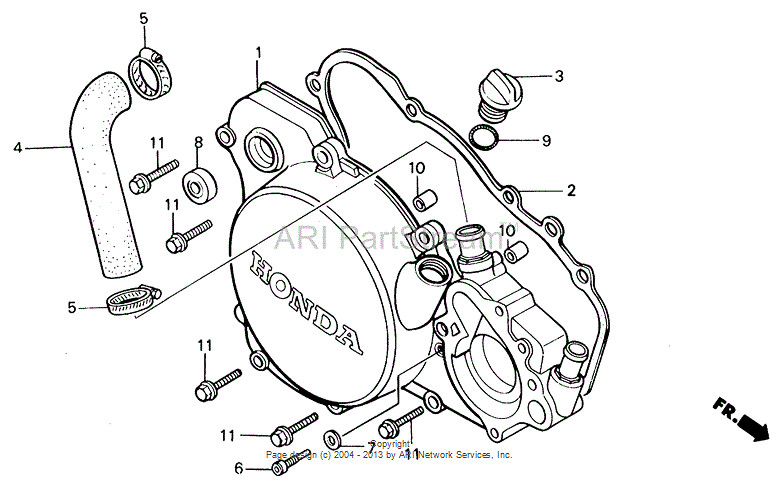The Right Crankcase Where It Joins Clutch Cover Is Miles Different You Only Have To Look At Gasket Realise This: 97 Honda Cr125r Engine Diagram At Sergidarder.com