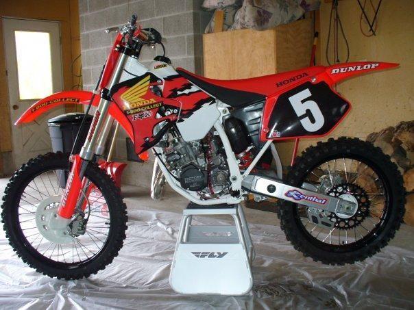 San Diego Honda >> 1995 honda cr125 restoration ideas - Old School Moto - Motocross Forums / Message Boards - Vital MX