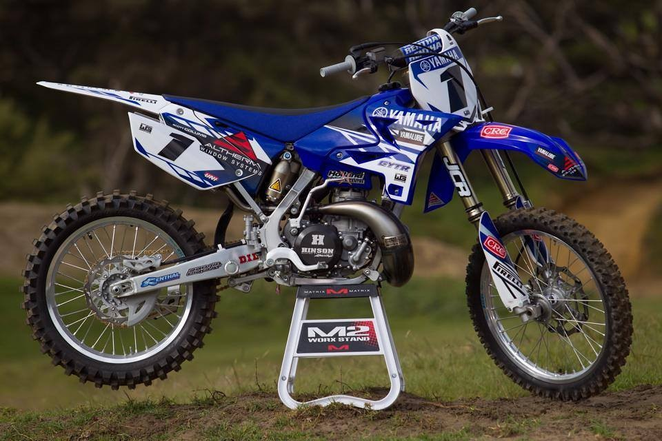 Aus Gtyr Yz 125 250 Graphics Moto Related Motocross