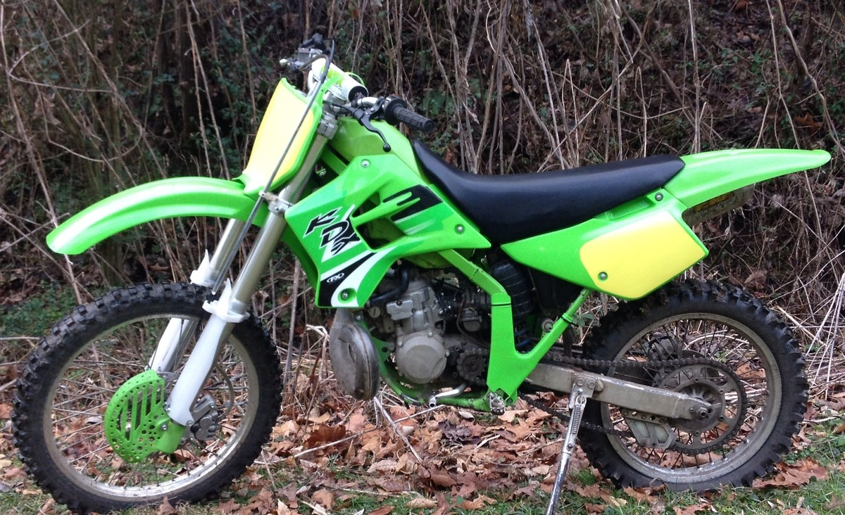Traded my 02 kdx 200 to a 97 rm250 today! - Old School Moto